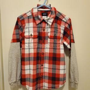Carters button up shirt. Sz 5